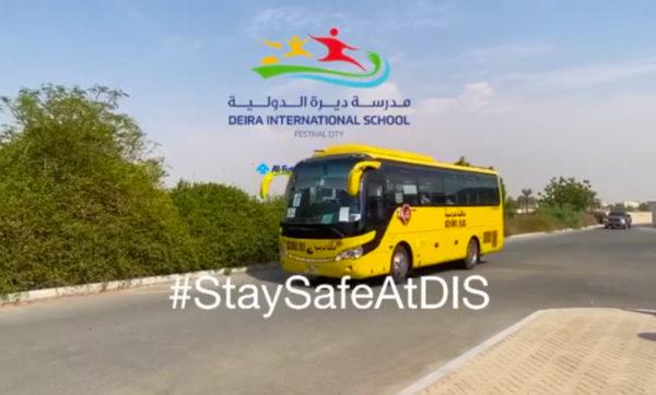 Deira International School's Preventive Action Against COVID-19